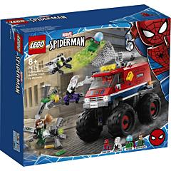 LEGO Marvel Super Heroes Camionul gigant al Omului paianjen contra Mysterio 76174