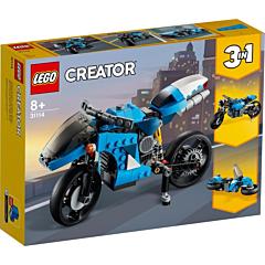 LEGO Creator 3 in 1 Super Motocicleta 31114