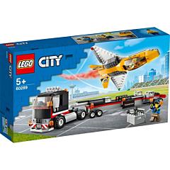 LEGO City Transportor de avion cu reactie 60289