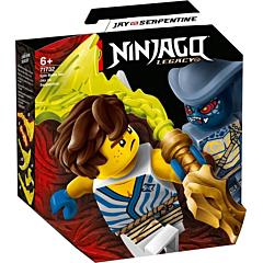LEGO Ninjago Set de lupta epica - Jay contra Serpentine 71732