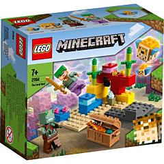 LEGO Minecraft Reciful de corali interactiv 21164
