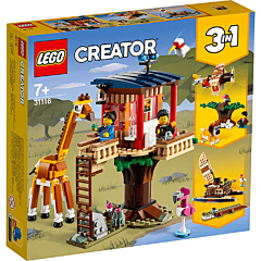 LEGO Creator Casuta in copac cu animale salbatice din safari 31116