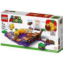 LEGO Super Mario Set de extindere Mlastina otravita a lui Wiggler 71383