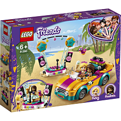 LEGO Friends Masina si scena Andreei 41390