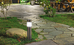 Lampa solara tub 6.2X6.2X38CM, Carrefour