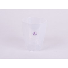 Ghiveci Orhidee 133, transparent