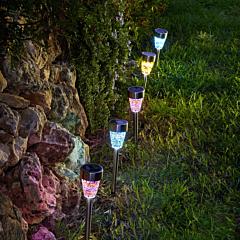 Lampa solara mozaic