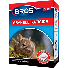 Granule raticide 140 g, Bros
