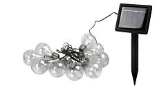 Instalatie solara cu 45 de filamente LED si 9 becuri