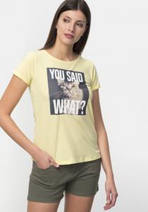 Tricou mânecă scurtă damă S/XXL