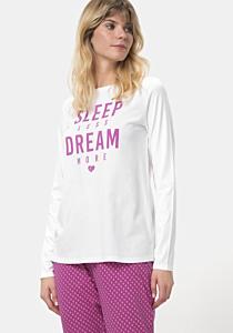 Pijama maneca lunga dama S/XXL
