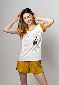Pijama maneca scurta dama S/XXL