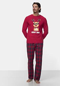 Pijama maneca lunga barbati S/XXL
