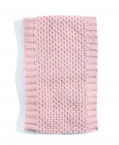 Eșarfă tricotată texturat fete 2/12 ani