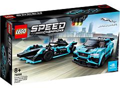 LEGO Speed Champions: Formula E Panasonic Jaguar Racing GEN2 car & Jaguar I-PACE eTROPHY 76898