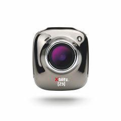 Camera auto DVR Xblitz Z9, Full HD, unghi de filmare 140°, WDR, senzor G, carcasa metal, argintiu