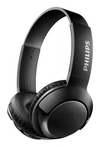 Casti wireless Philips SHB3075BK/00, Bass +, Negru