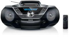 Microsistem audio Philips AZ780, CD Player, tuner FM, USB, AUX, 2x1W