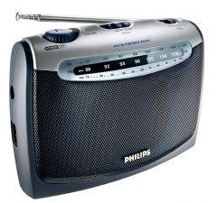 Radio portabil Philips AE2160/00C, Argintiu