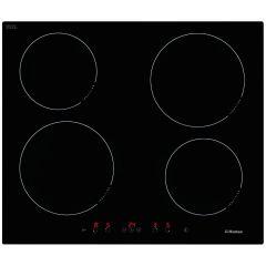 Plita incorporabila Hansa BHI68368, 60 cm, Inductie, 4 zone, touch, indicator putere, Full Booster, ChildLock, Auto Boil, mentinere temperatura, timer, sticla neagra