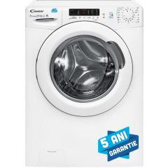 Masina de spalat rufe cu uscator Candy, CSW 596D-S, 1500 rpm, 9 kg spalare, 6 kg uscare, NFC, 16+40 programe, clasa A, alb