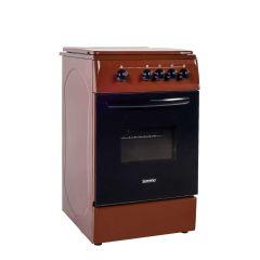 Aragaz pe gaz Serreno SER 5601M/G1, 4 arzatoare, dispozitiv siguranta plita si cuptor, latime 50 cm