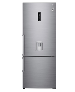 Combina frigorifica LG GBF567PZCZB, H 185 cm, 440 l, Clasa A++, No Frost, Argintiu