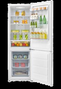Combina frigorifica Serreno SCN-295WA+, 295 L, No Frost, 59.5 cm, H 188 cm, Clasa A+, Alb