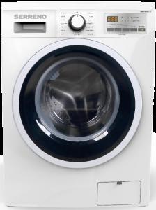 Masina de spalat rufe Serreno SWM84G12IA+++, capacitate 8 kg, 1400 rpm, 15 programe, Motor Inverter, clasa A+++, Alb