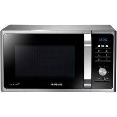 Cuptor cu microunde Samsung MS23F301TAS, 23 l, 800 W, Negru/Argintiu