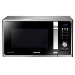 Cuptor cu microunde Samsung MG23F301TAS, 23 l, 800 W, Grill, Negru/Argintiu