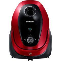 Aspirator cu sac Samsung VC07M25E0WR, 2.5 l, 700 W, Tub telescopic, Accesorii 2 in 1, Rosu