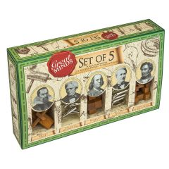 Joc de inteligenta, Professor Puzzle, Great Minds - Set 5