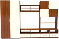 Biblioteca Fiesta Prun/Alb, 290 x 197 x 52