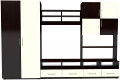 Biblioteca Fiesta Wenge/Alb, 290 x 197 x 52