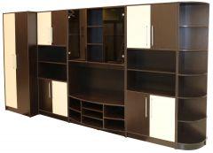 Biblioteca Iris Wenge/Vanilie, 368 x 201 x 54