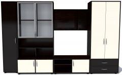 Biblioteca Miraj Wenge/Vanilie, 320 x 201 x 57