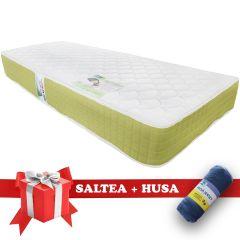 Set Saltea Pocket Spring Saltex 90x200 cm + Husa cu elastic