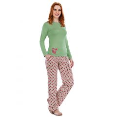 Pijama dama bumbac 3055
