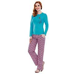 Pijama dama bumbac 3070