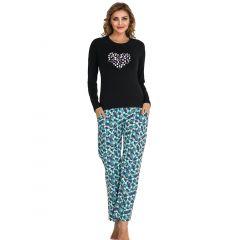 Pijama dama bumbac 3089