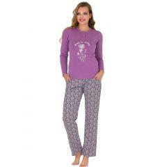 Pijama dama bumbac 3110
