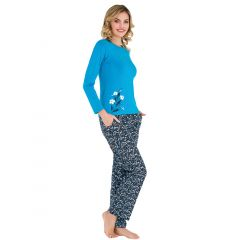 Pijama dama bumbac 3135