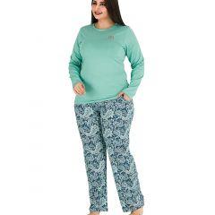 Pijama dama bumbac 3143
