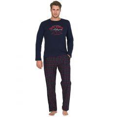 Pijama barbati bumbac 3765