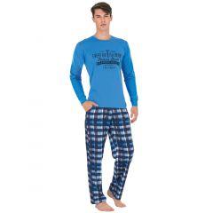 Pijama barbati bumbac 3728
