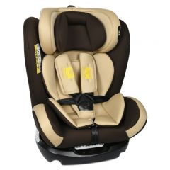 Scaun Auto Riola plus cu Isofix Crocodile Coffee light 0 36 kg