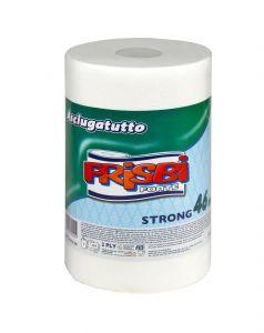 Rola prosop hartie FRISBI Forte, 2 straturi, 46 m, alb, 100% celuloza pura