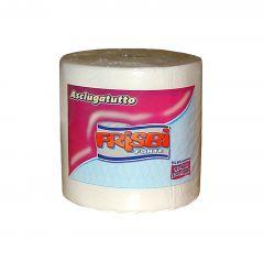 Rola prosop hartie FRISBI Forte, 2 straturi, 150 m, alb, 100% celuloza pura