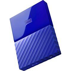 "Western Digital HDD extern 1TB, My Passport, 2.5"" USB 3.0, albastru"